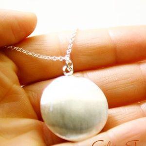 Brushed Dome/Disc Necklace/Bracelet, Handmade 🌸